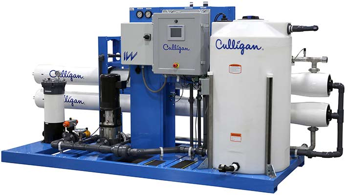 Nevada Culligan industrial water solutions IW 35 Reverse Osmosis