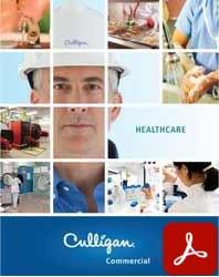 Culligan Commercial healthcare water solutions brochure icon Nevada PDF
