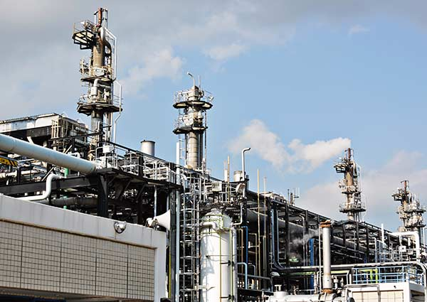 Fuel gas or oil processing and transmission NV Culligan Industrial water systems